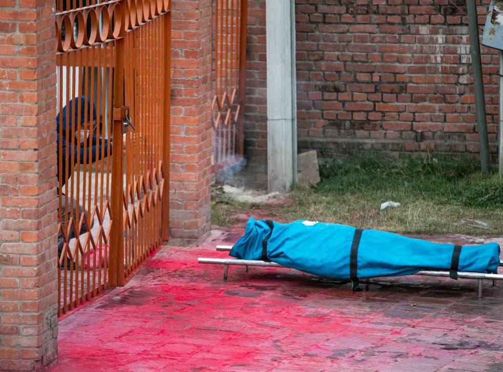 Virus Outbreak Nepal