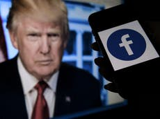 Trump Facebook decision – live: Ban upheld by oversight panel but there's a catch