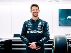 Romain Grosjean to drive F1 car for first time since horror crash