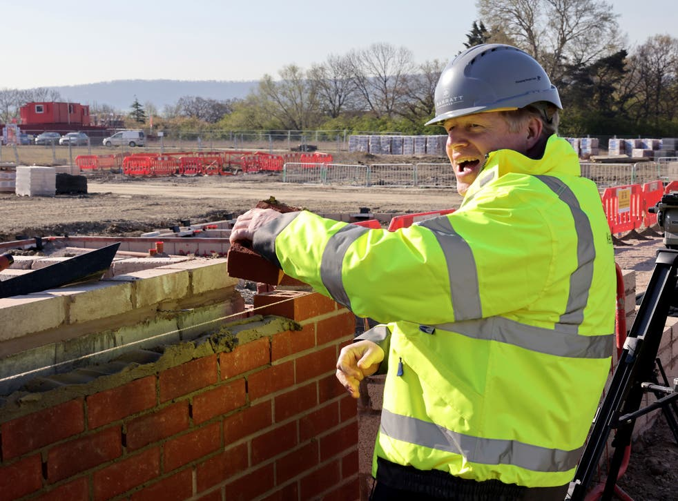 <p>Hod father: Boris Johnson, an unlikely leader of the working class</p>