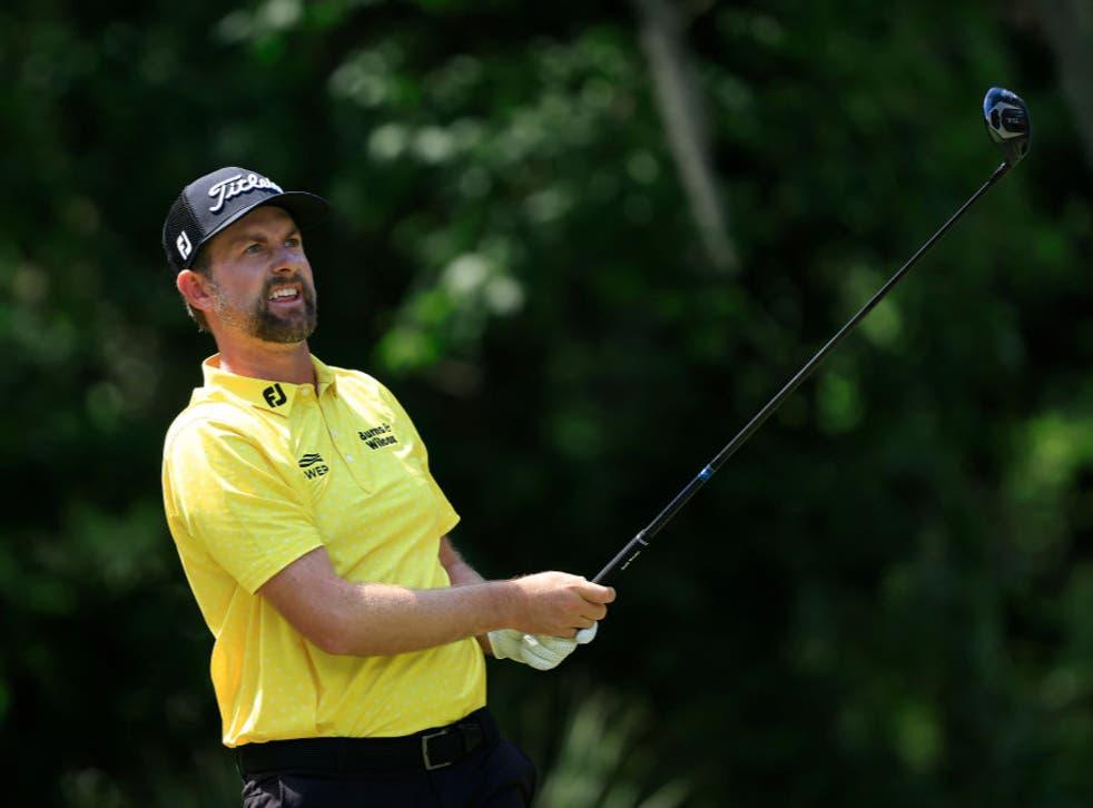 Webb Simpson played down the prospect of a Premier Golf League