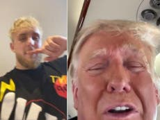 Jake Paul reveals FaceTime conversation with Trump