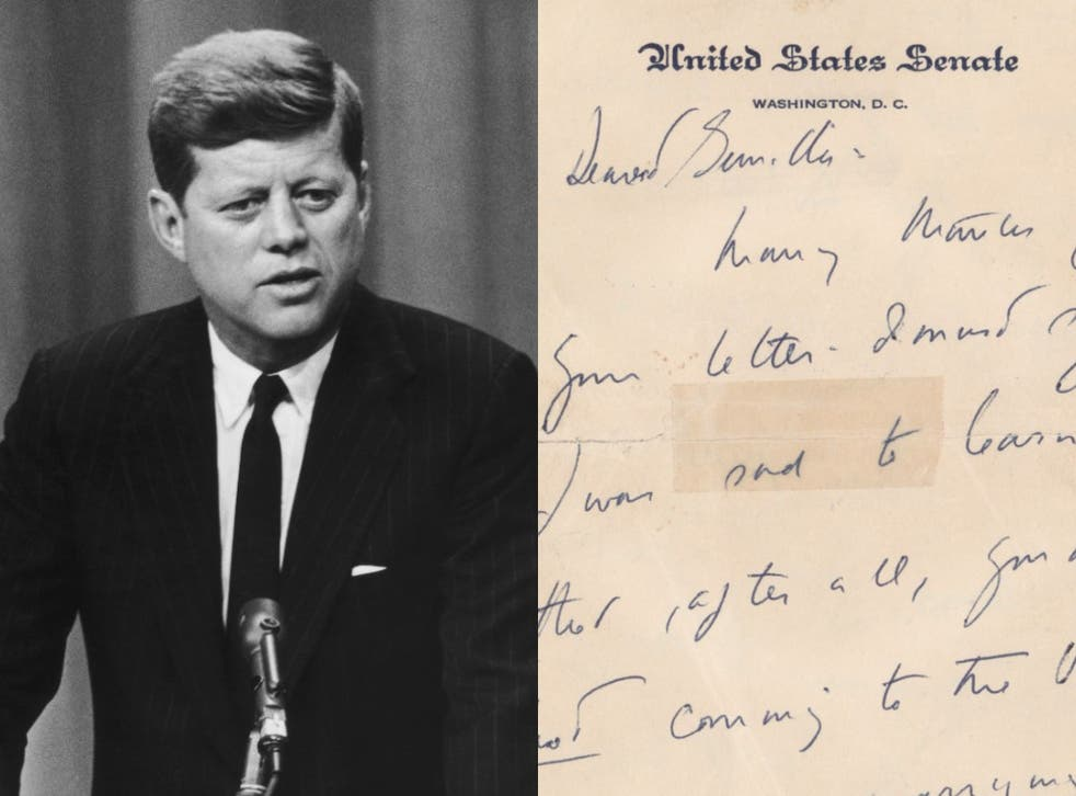 <p>One autograph signed letter and two partial handwritten letters are currently listed for auction on RR auction, and are dating between 1955 and 1956</p>