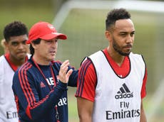 Unai Emery wary of 'killer' Pierre-Emerick Aubameyang ahead of return to Arsenal