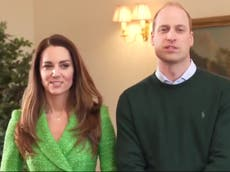 Prince William and Kate Middleton launch YouTube channel