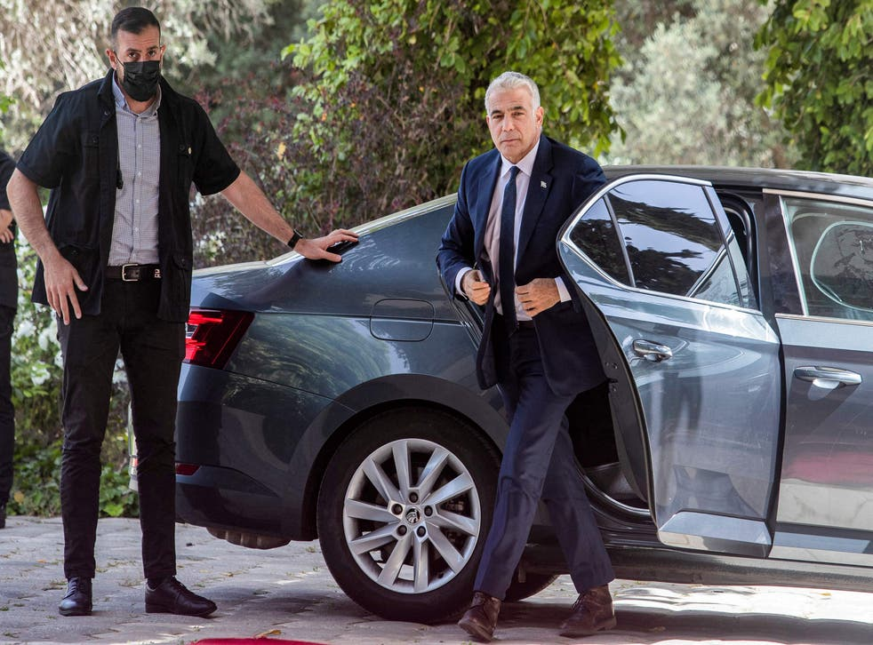 <p>Doors opening? Yair Lapid, leader of the Yesh Atid (There Is a Future) Party, has been tasked with forming a coalition government to break Israel's political impasse</p>