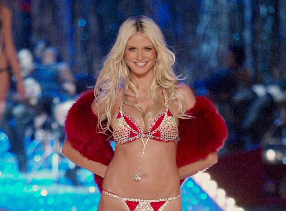 Heidi Klum reveals she was four months pregnant during Victoria's Secret Fashion Show in 2003