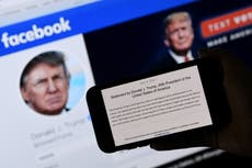 Trump Facebook ban: White House says social media has responsibility to block misinformation