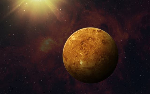 <p>NASA discovers strange radio signal in Venus' atmosphere</p>
