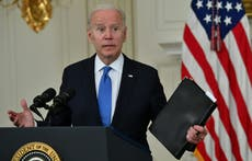 Biden lays into GOP opposition and Trump tax cuts as he says Republicans in midst of 'mini-revolution'