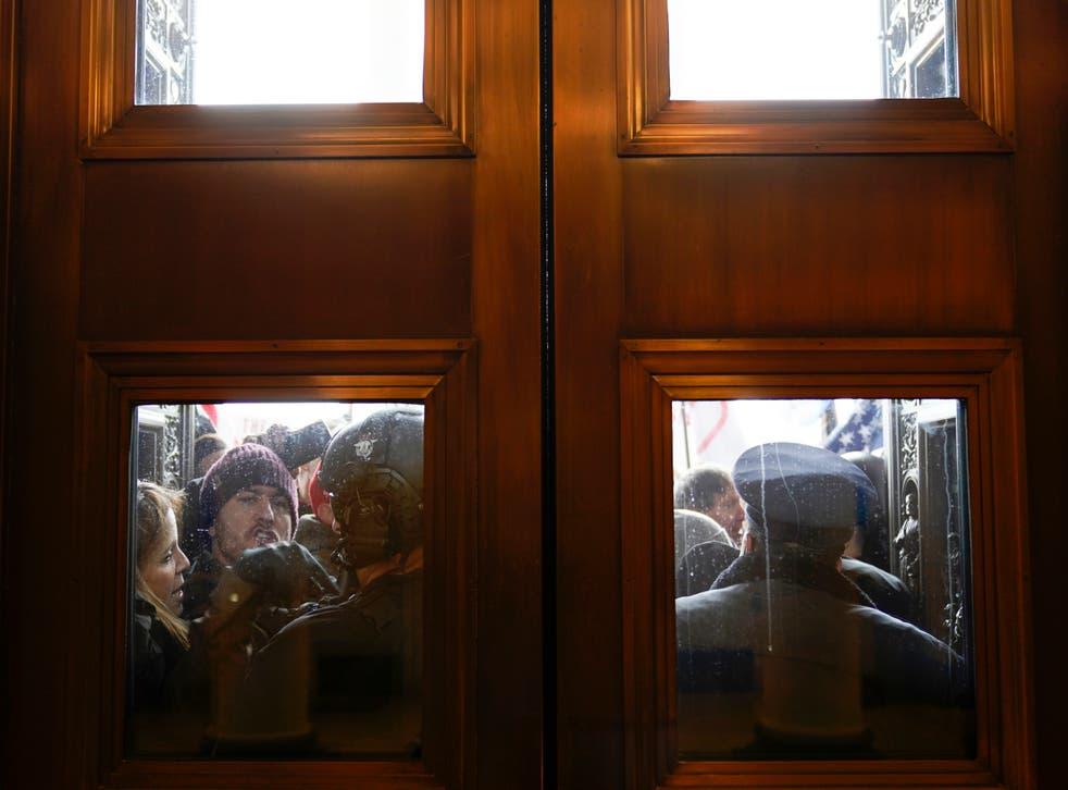 Capitol Breach Pelosi's Laptop