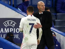 Real Madrid boss Zinedine Zidane admits Chelsea 'deserved' to win Champions League semi-final