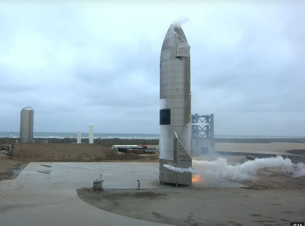 <p>Starship SN15 launched and landed successfully at SpaceX's Starbase facility in Boca Chica, Texas, on 5 May, 2021</p>