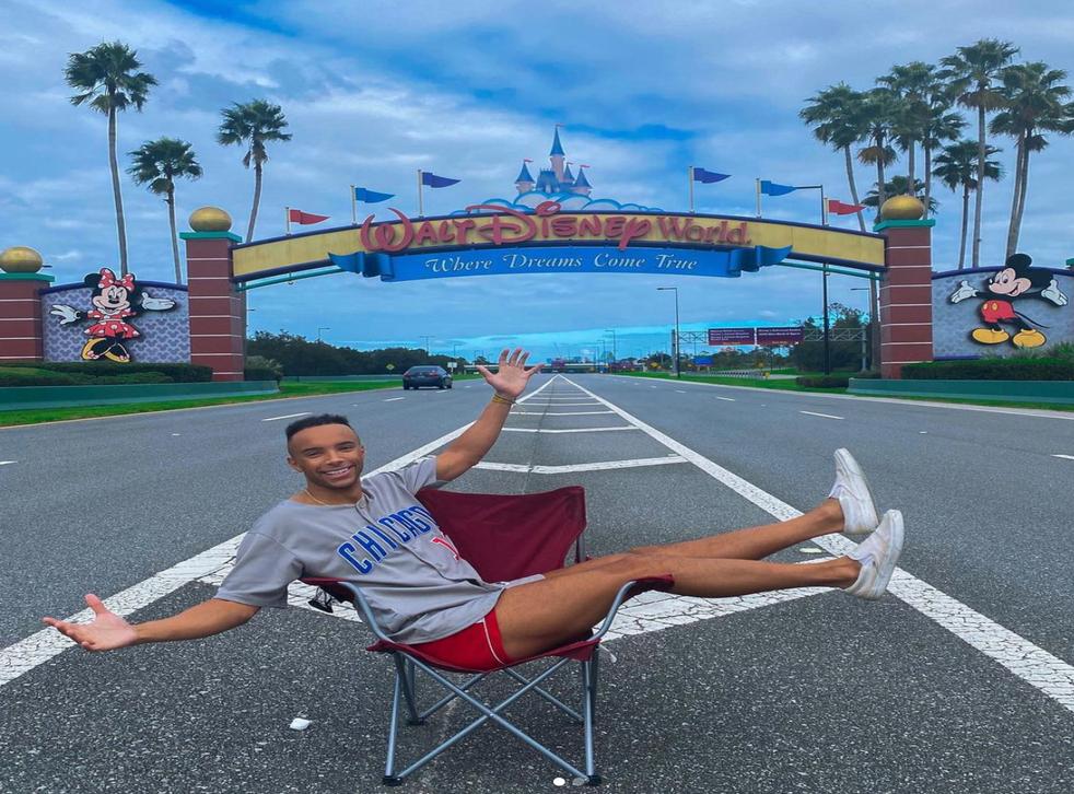 <p>Jason Jeter at Walt Disney World</p>