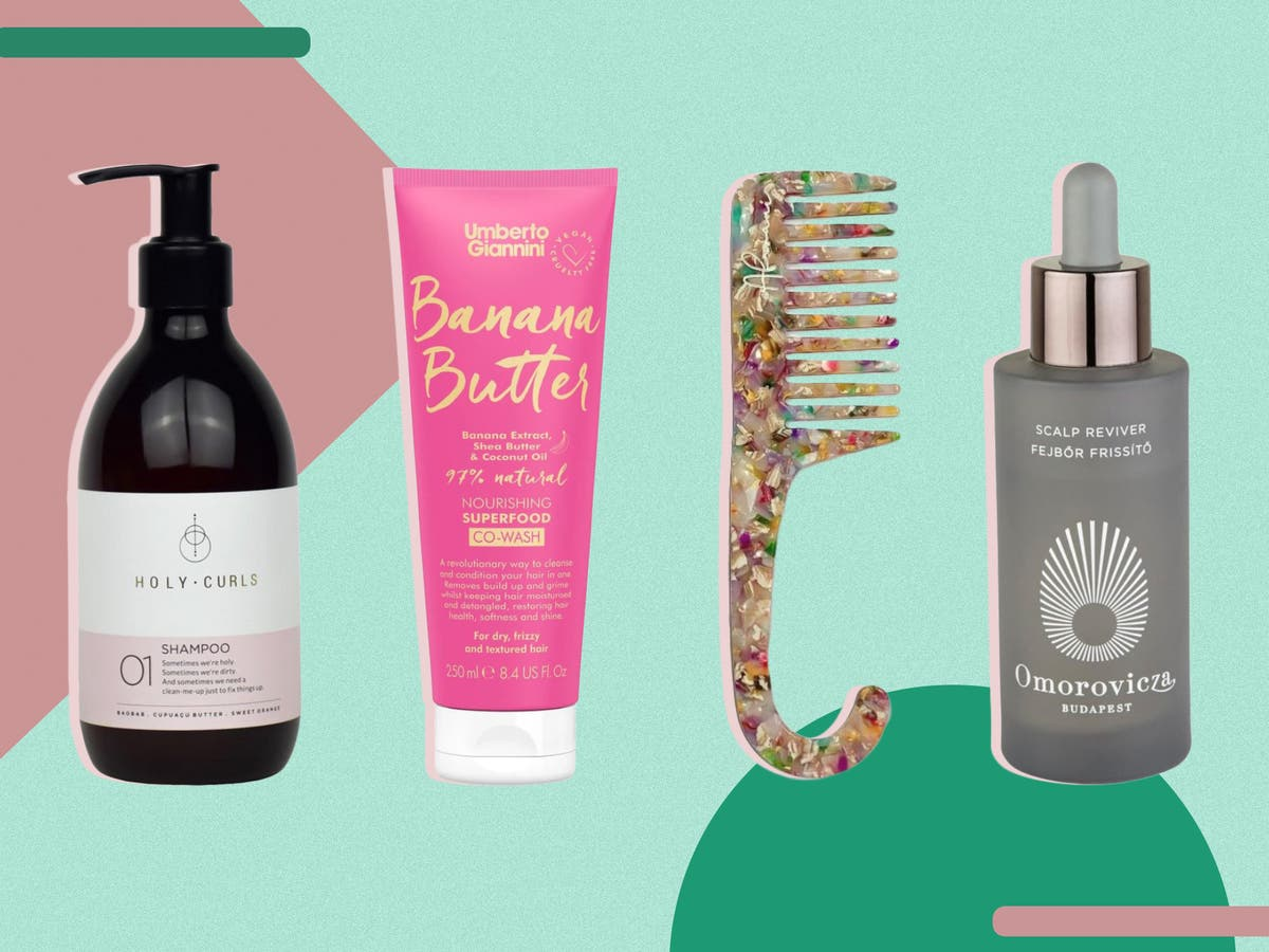 Best curly hair products 20 From creams to shampoos   The ...
