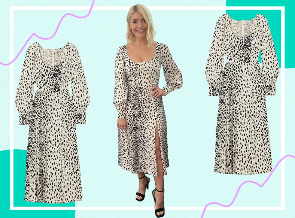 <p>While more expensive than her usual high street outfits, this dress will stand the test of time</p>