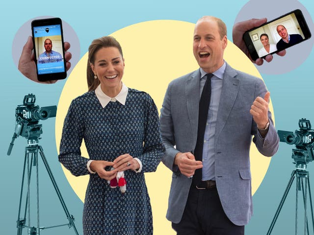 <p>Watch the throne: William and Kate embrace the social media age</p>