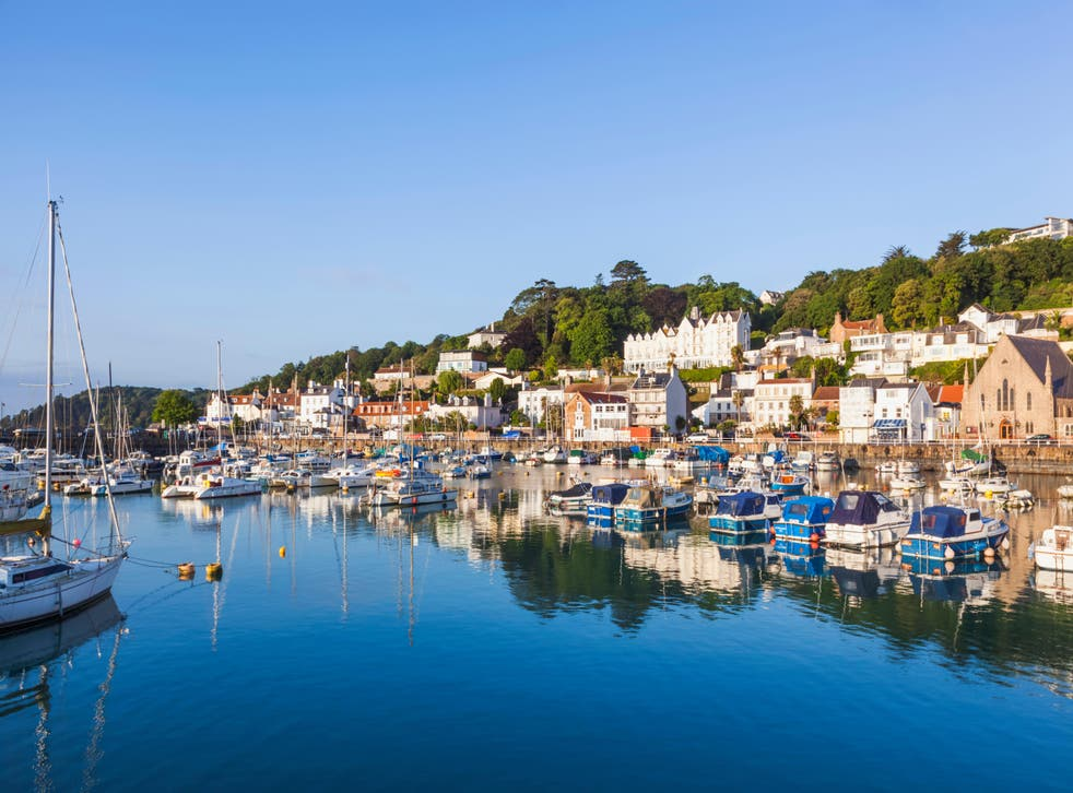 United Kingdom, Channel Islands, Jersey, St. Aubin's Harbour