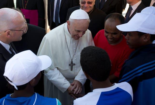Vatican Pope Migrants
