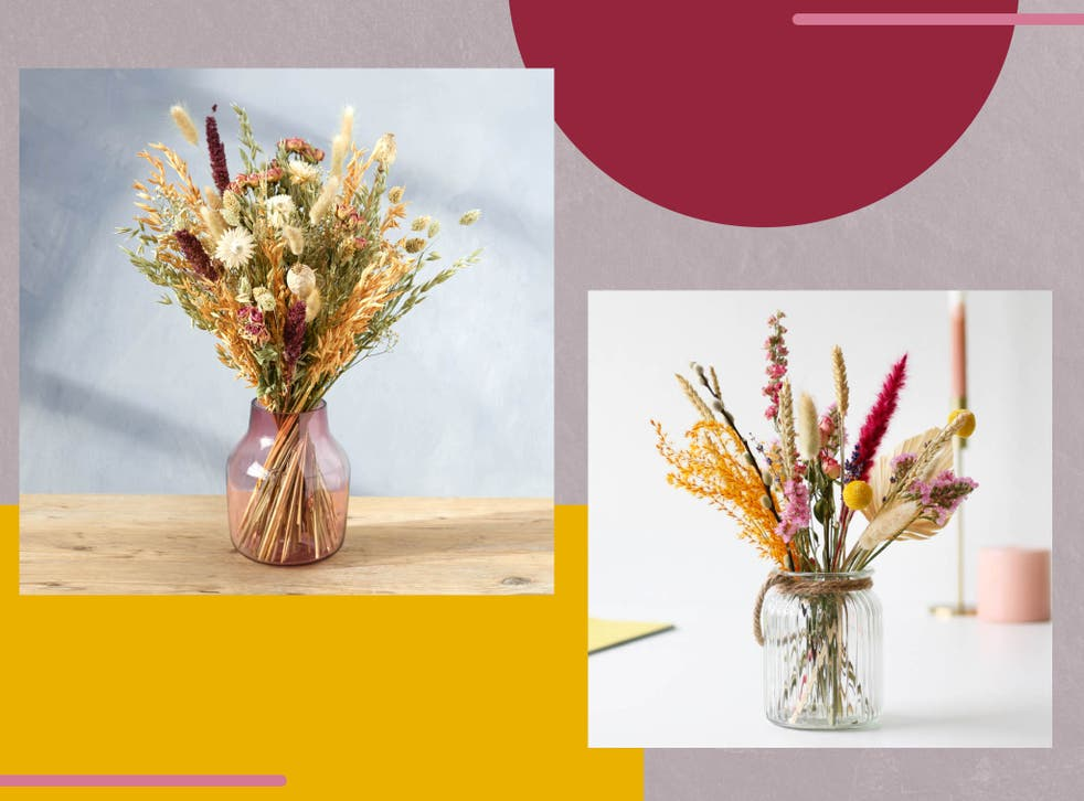 <p>Whether you want to brighten up a boring bathroom or to celebrate a special occasion, a dried flower bouquet is a stylish choice that's always in season</p>