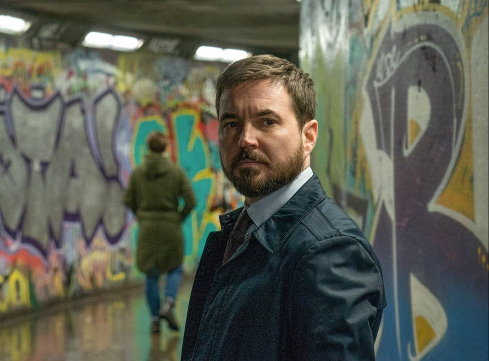 Martin Compston as Steve Arnott in Line of Duty's sixth season, aired recently on BBC One