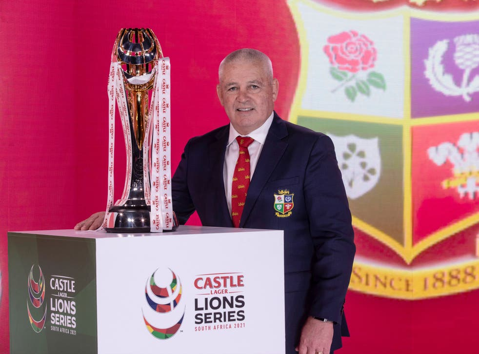 British and Irish Lions coach Warren Gatland