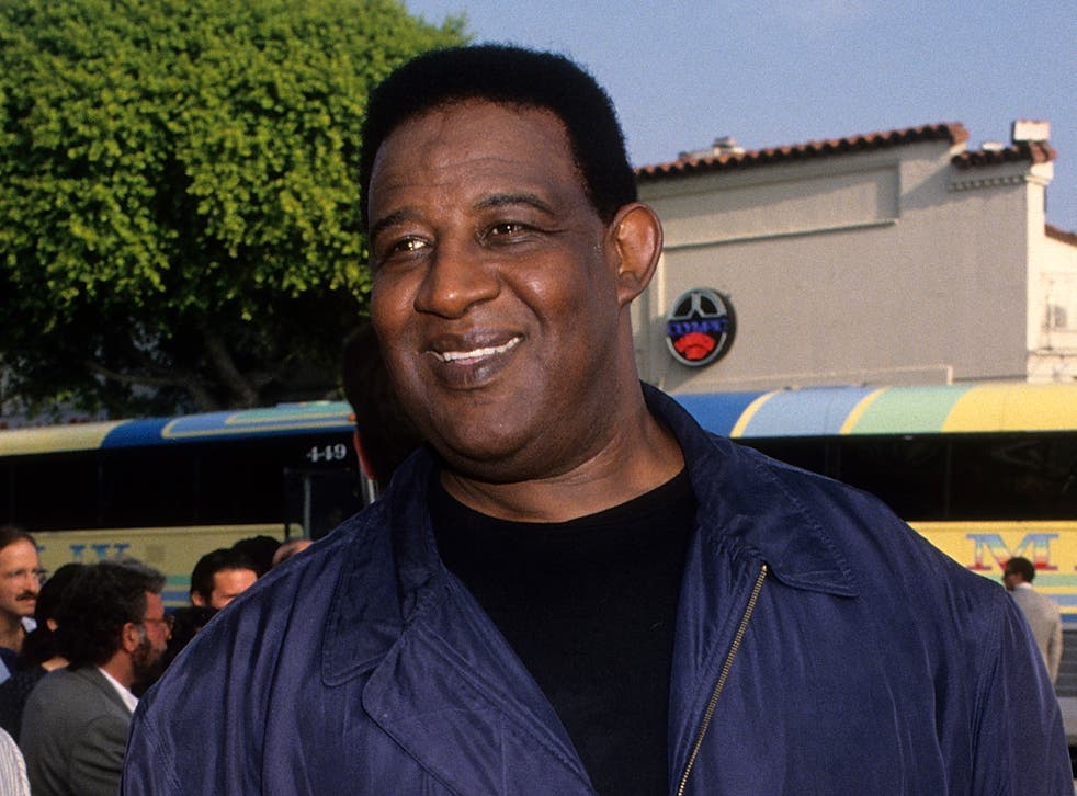 Frank McRae, photographed at the Westwood premiere of Last Action Hero in 1993