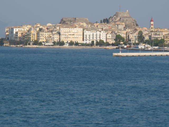 Free view: Corfu Town, a potential beneficiary of the 'islands policy'