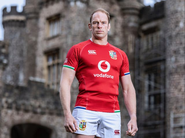 British and Irish Lions captain Alun Wyn Jones