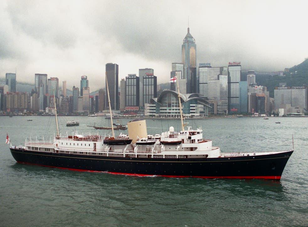 <p>HMY Britannia was decommissioned in 1997</p>