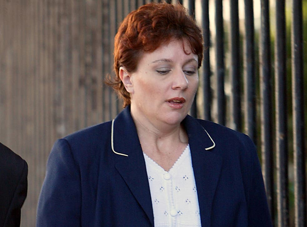 Australian Kathleen Folbigg, pictured in 2003, is petitioning the New South Wales state governor for a pardon after being convicted of killing her four children 18 years ago