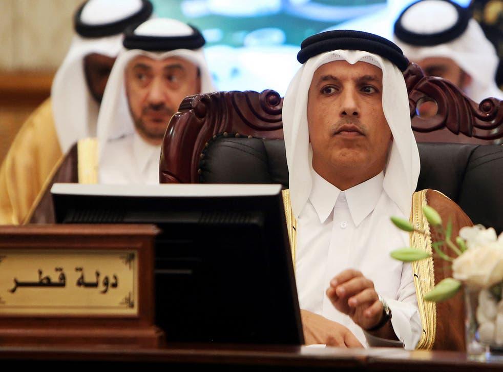 Qatari Minister of Finance Ali Shareef al-Emadi