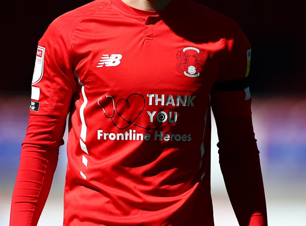 Harry Kane bought the shirt sponsorship of his old loan club Leyton Orient last year