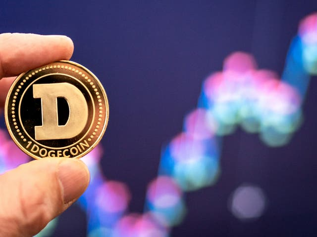 Dogecoin has risen in price by more than 11,000 per cent in 2021