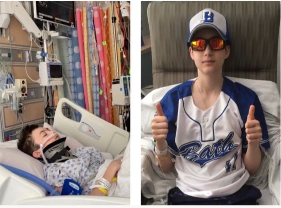 <p>Teen baseball player dies after freak accident on base</p>