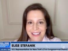 Elise Stefanik backs conspiracy-driven Arizona vote 'audit' and rails at Twitter on Steve Bannon podcast
