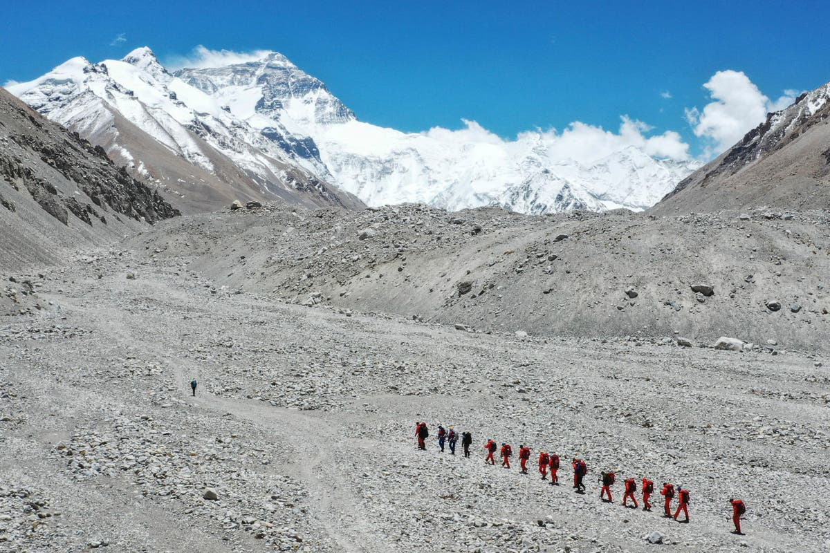 China to create 'line of separation' at Everest summit over Covid fears - independent