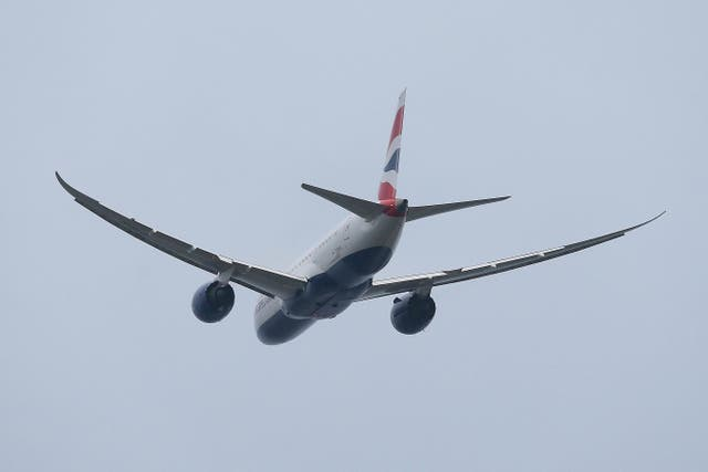 Going places; British Airways Boeing 787