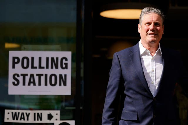 <p>Labour party leader Keir Starmer suffered a humiliating defeat in Hartlepool in the by-elections</p>