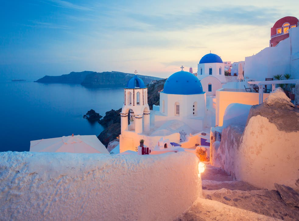 <p>Could Santorini, but not Greece, make the green list?</p>