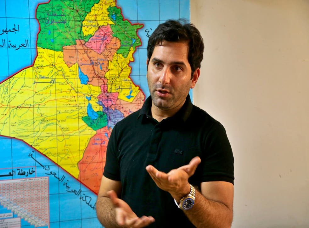<p>The show's presenter, Raslan Haddad, felt the cancellation was unfair </p>