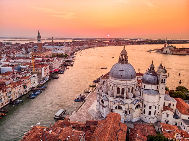<p>Venice, Italy, could be open to American tourists, restriction-free</p>