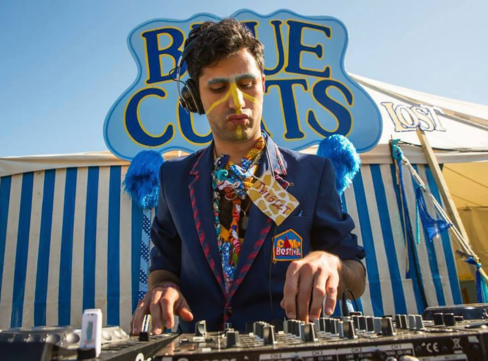 Festivals are about doing whatever goofy, reckless and gross s*** you're into: Oliver Keens at the decks