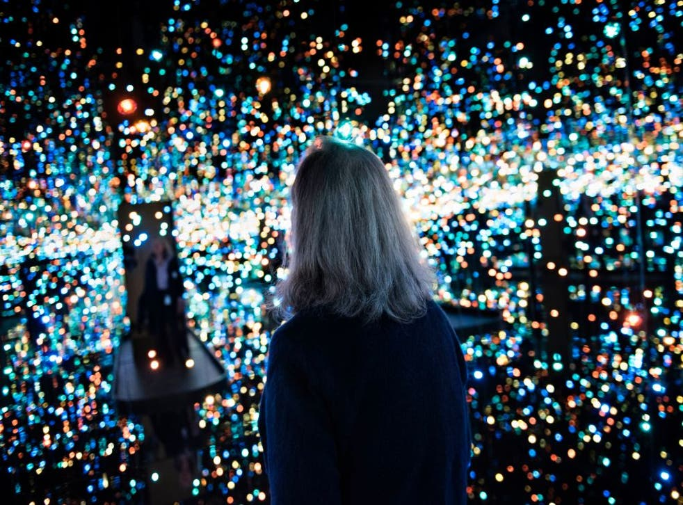 <p>Yayoi Kusama's Infinity Mirror Room exhibit is to reopen at the Tate Modern soon</p>