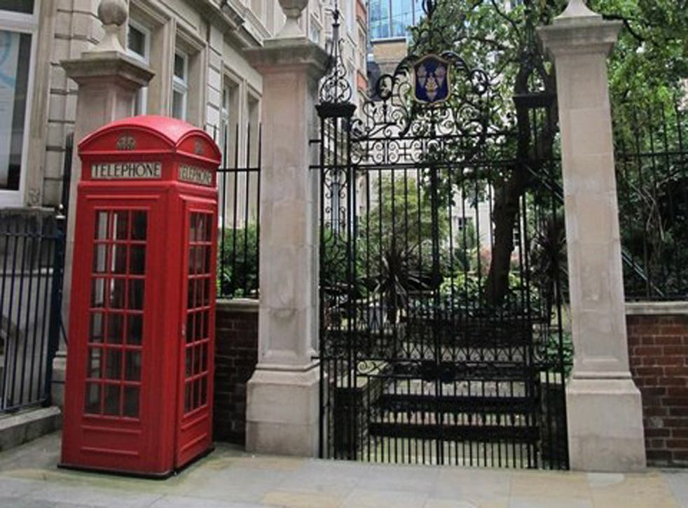 <p>The phone box is on sale for £45,000</p>