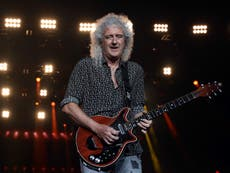 Queen's Brian May says he's 'fit and ready' to return to making music after nearly dying last year