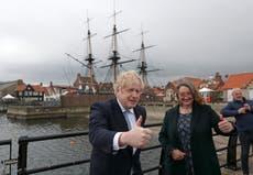 Boris Johnson hails electoral win as focus turns to Scotland