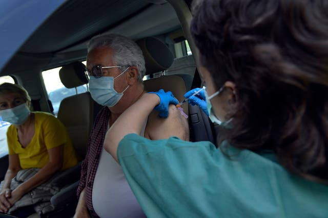 Virus Outbreak Spain Vaccine
