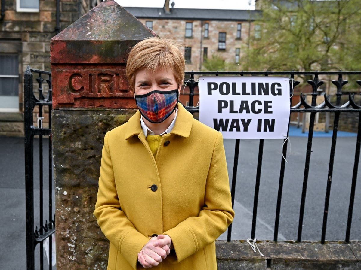 Election results live – Scotland majority 'a long shot' says Sturgeon