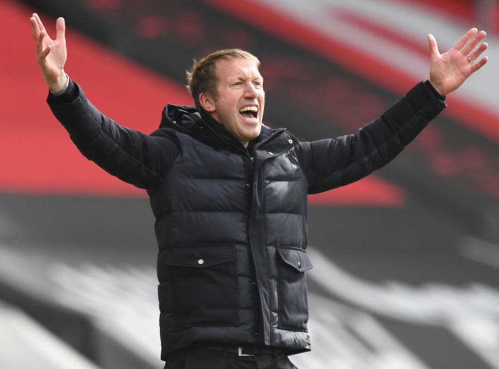 Graham Potter has been linked with the Tottenham job
